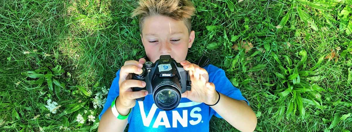 Photography 101 Kids Camps in Milton Ontario