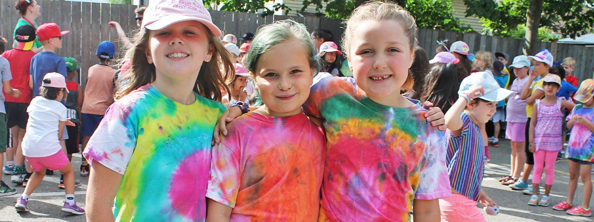 Tie Dye Your Summer Camps in Milton Ontario